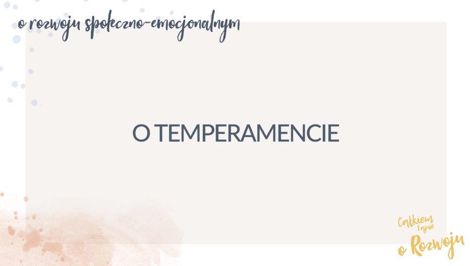 O temperamencie